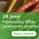 28 juni - Publieksdag Wilde planten en groenten